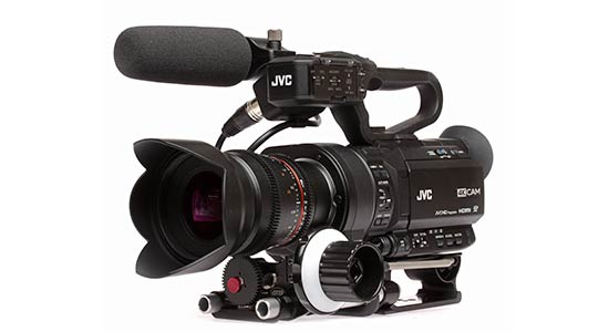 JVC launches the new 4KCAM product line
