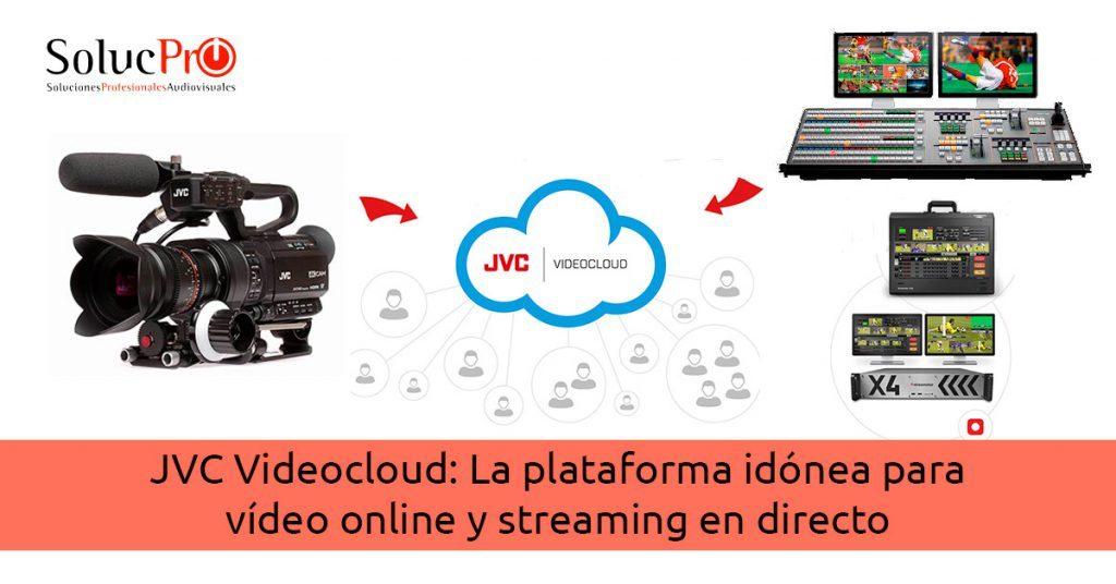 La plataforma para vídeo online y streaming en directo JVC Videocloud
