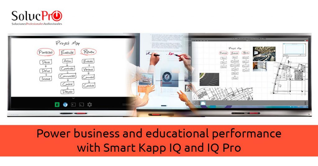 Power business and educational performance with Smart Kapp IQ and IQ Pro