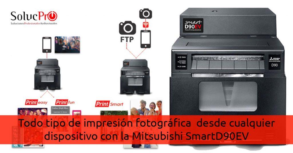 Impresión fotográfica profesional desde cualquier dispositivo con SmartD90EV